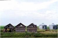 Grain bins Saskatchewan 1994