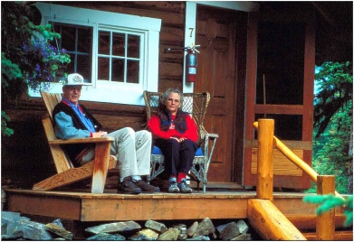 At Lake O'Hara 1998