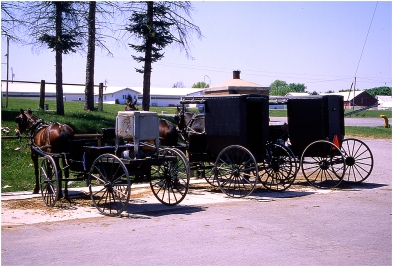 Amish country Ohio 1999