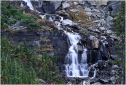 Oesa Falls, Lake O'Hara 1998