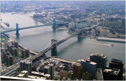 New York bridges 1989