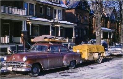 Leaving Toronto December 1960