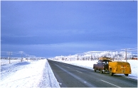 Saskatchewan highway December 1960