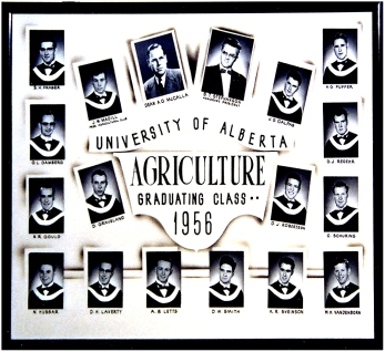 U of A Agriculture class of 1956