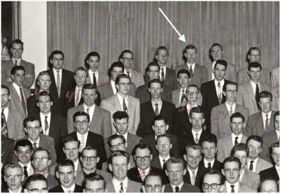 St Stephen's College residents 1955-56