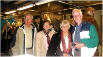 Enkhuizen, Netherlands 2006, with cousin Wim and Henny