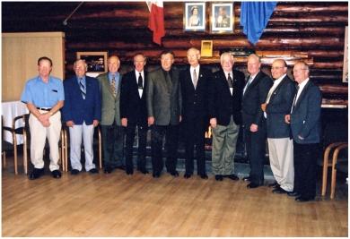 Class of '56 reunion 2001
