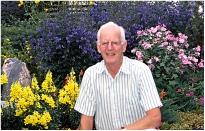 Front yard flower 2002