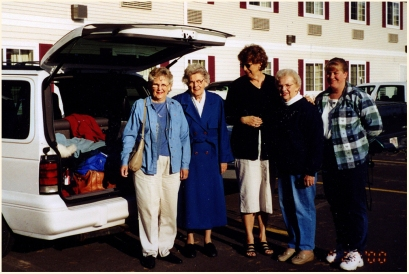 On tour in Jasper with Wisconsin relatives in early 1990s