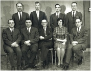 Plant Science faculty members 1962