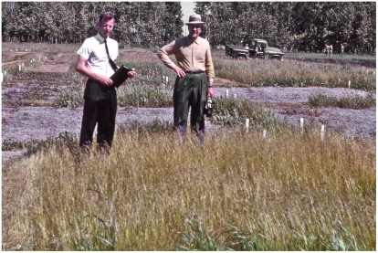 Plot tour with Dean Fred Bentley 1964