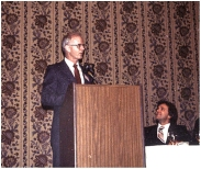 The Excellence in Weed Science award in 1987, with Bill Hamman