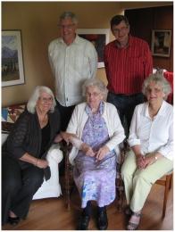 Grandma and her children 2011