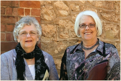 With Jean in Australia 2009