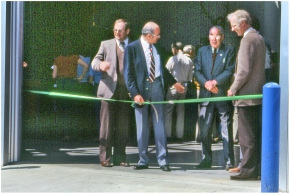 Opening of Plant Science farm facility 1984