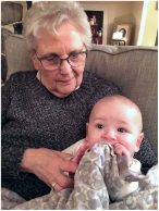 WIth great-grandson Jacob 2018