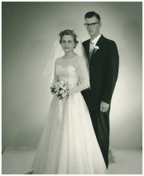 Wedding 6 June 1958