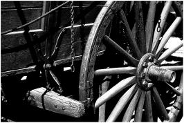 Old wagon Nevada