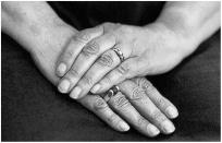 Dixie's hands