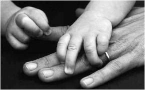 Debbie and Emma's hands
