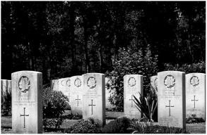 War cemetery Netherlands