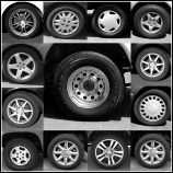 Wheels collected in Mesa