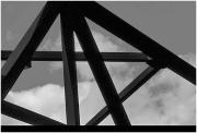 Footbridge steel