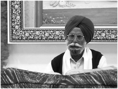 In Sikh Temple Edmonton