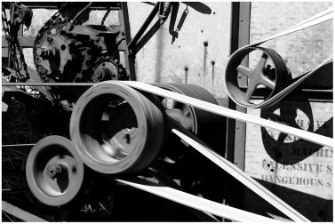 Threshing machine Leduc