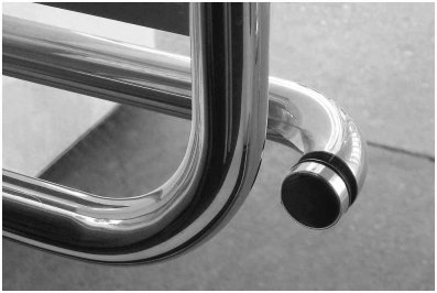 Door handle Palm Springs Convention Center
