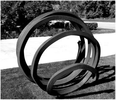 Lawn sculpture Edmonton