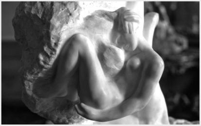Rodin's God's Hand (detail)