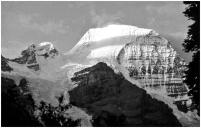 Mt. Robson from Berg Lake