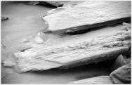 North Saskatchewan River ice