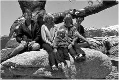 People at Jeffrey Pine, Yosemite
